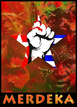 Vrij west papoea affische
