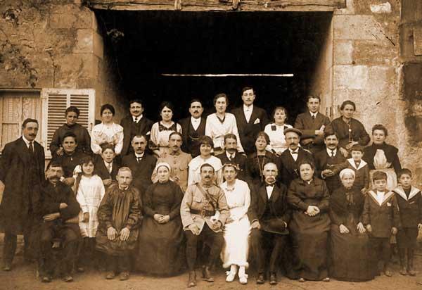 Franse familie 1930