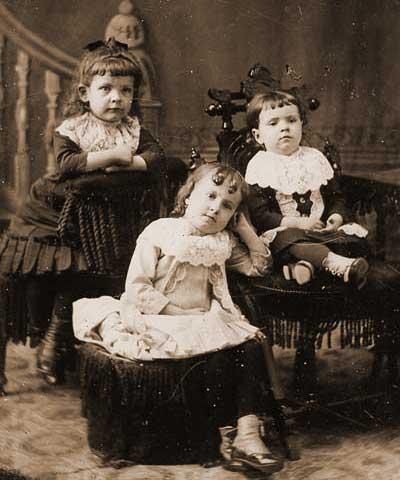 Franse kinderen 1900