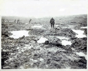 Slagveld Eerste Wereldoorlog