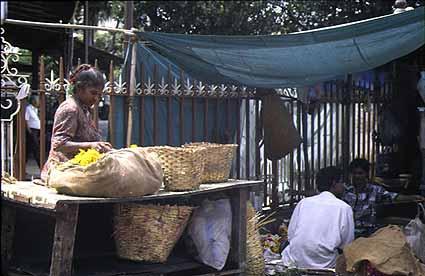 Markt in Bombay
