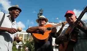 Cubaanse jongetjes in Havana.