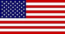 De Amerikaanse vlag.
